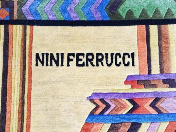 Die Firma vintage shop Antwerp aztec tapijt nini ferrucci