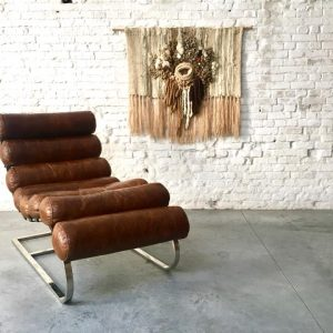Lederen Lounge Chair