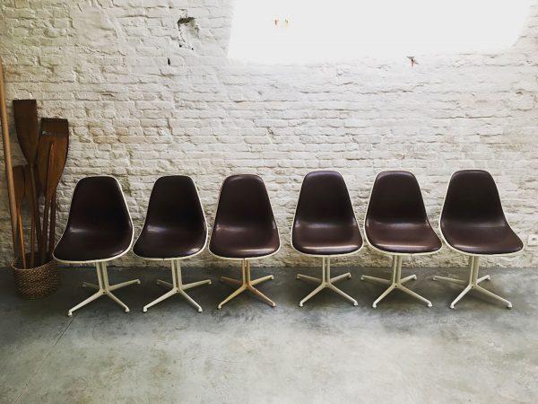 Die-Firma-vintage-shop-Antwerp-Eames-Herman-Miller-Lafonda-Skai-set-chairs