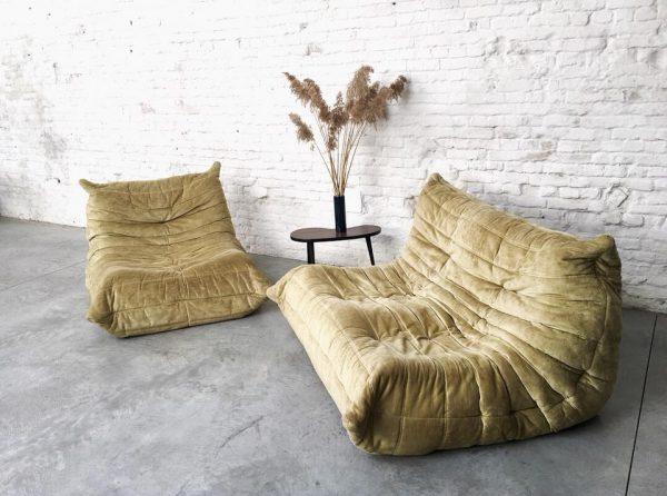 Die Firma vintage shop Antwerp Ligne Roset Togo Michel Ducaroy