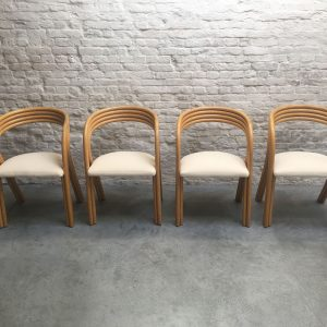 Set Axel Enthoven Rotan Chairs