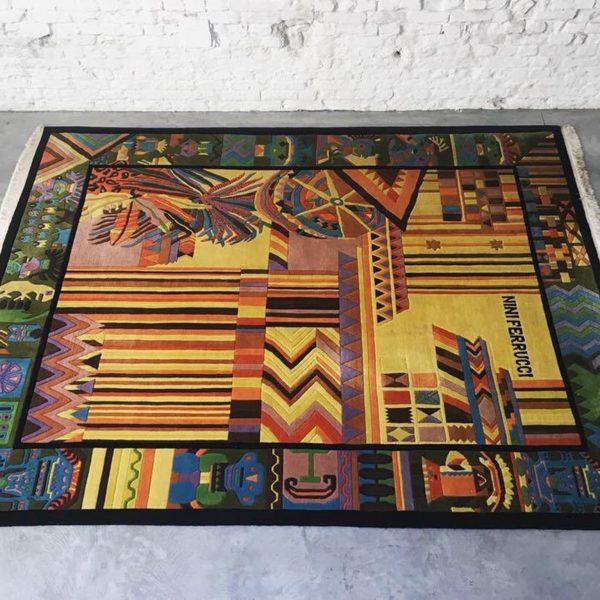 Die-Firma-vintage-shop-Antwerp-aztec-tapijt-nini-ferrucci