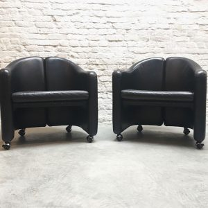 Set Eugenio Gerli Club Chairs