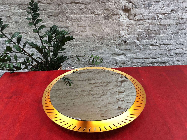 Die Firma vintage shop Antwerp stilnovo mirror