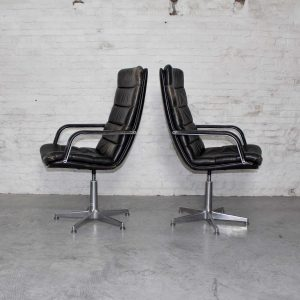 Artifort Holland Office Chairs F141 – Geoffrey Harcourt
