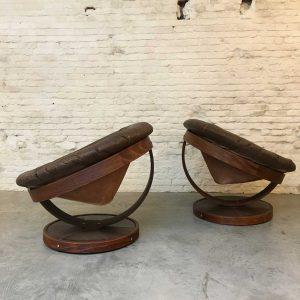 Zeldzame set art-deco zeteltjes