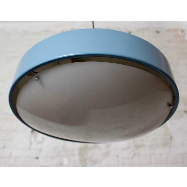 Die Firma vintage shop Antwerp metalen hanglamp