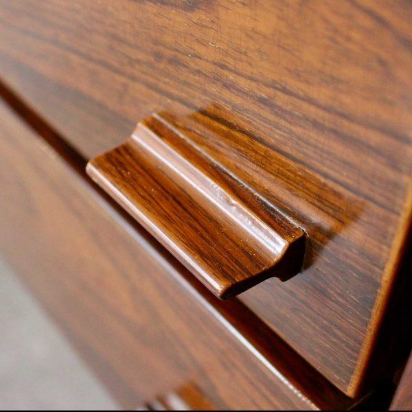 Die Firma vintage shop Antwerp rosewood sideboard