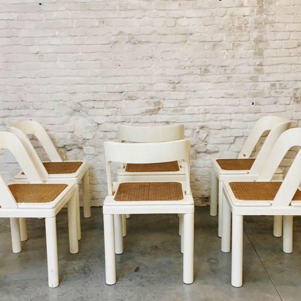 Die Firma vintage shop Antwerp Set stoelen van Rosanna