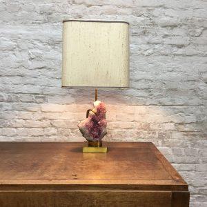 Amethyst Tafellamp