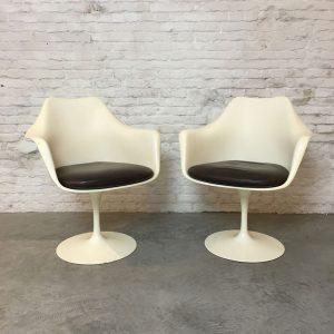 Knoll Tulip armchairs