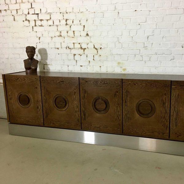 Die-Firma-vintage-shop-Antwerp-Vintage-Brutalist-sideboard